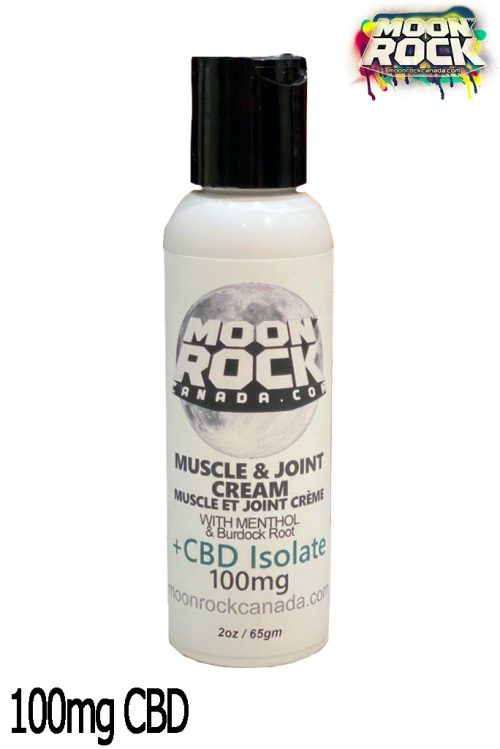 Moonrock Canada CBD Muscle & Joint Cream